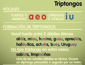 Ejemplos de triptongos