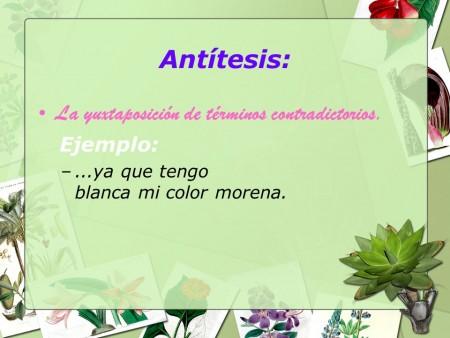 Ejemplos de antítesis