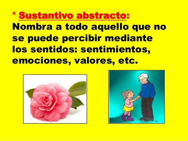 Ejemplos De Sustantivos Abstractos
