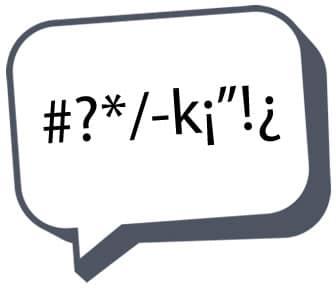 Globo de habla con dialectos