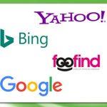 Logotipos de buscadores más usados