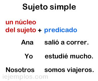 Sujeto simple